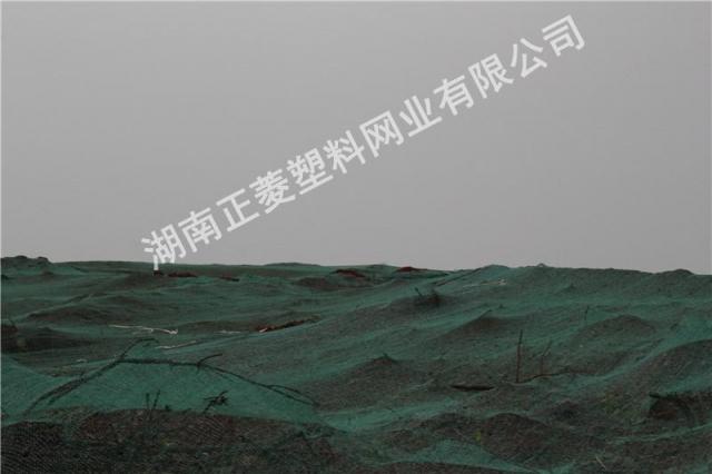 湖南湘潭市湘潭县工地盖土网30亩案例